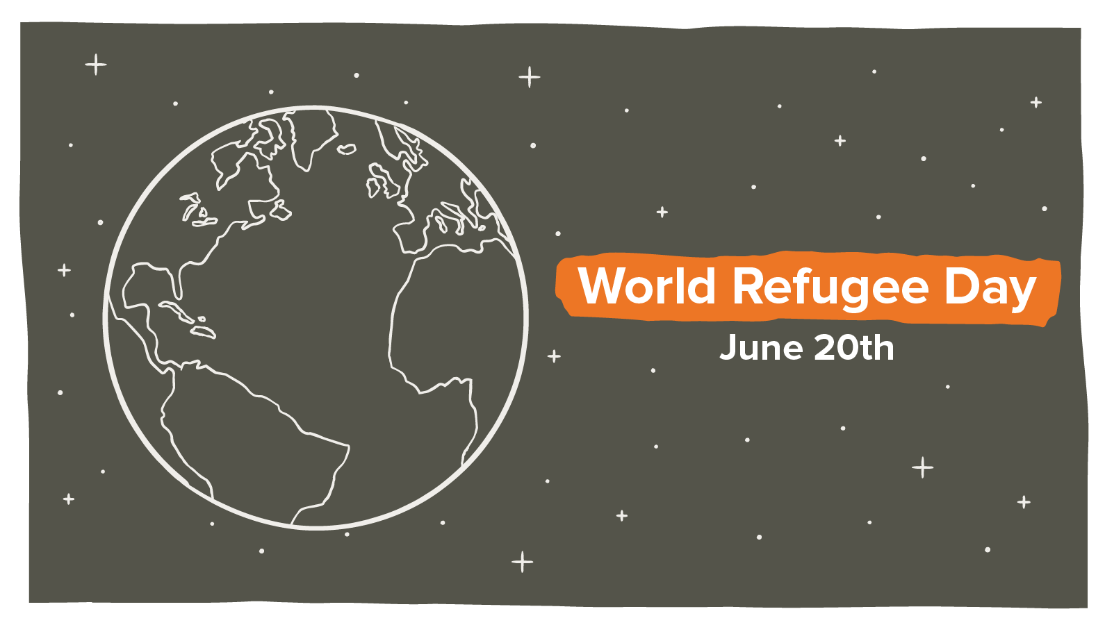 World Refugee Day June 20th.