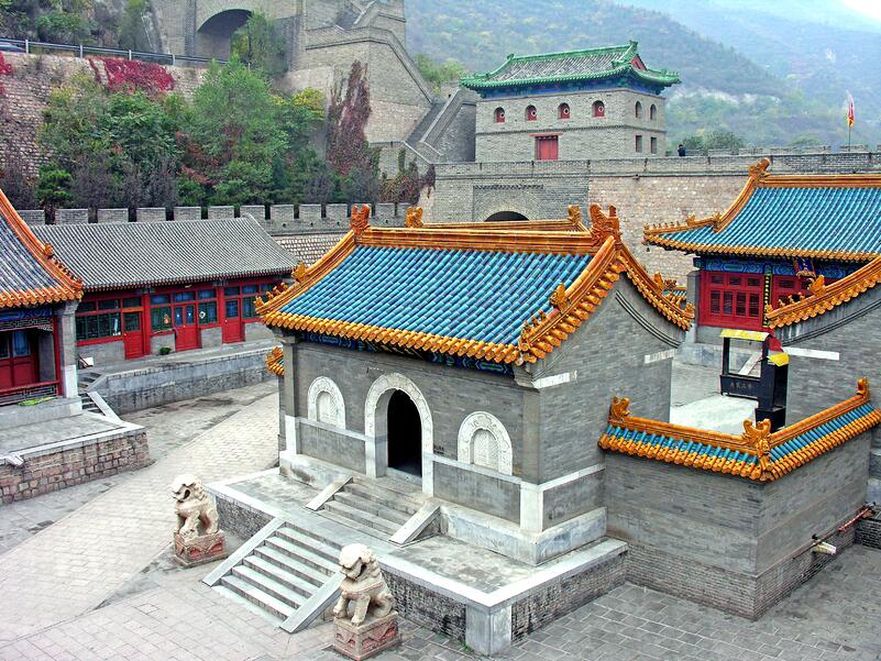 Zhen Wu Temple at the Great Wall