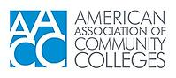 American Association of Community Colleges logo.