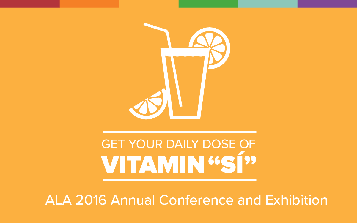 "Get your daily dose of Vitamin ""Sí"" with Mango at ALA 2016."