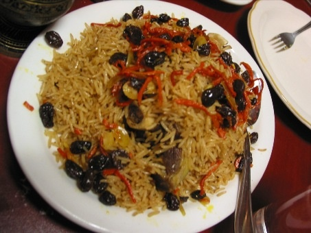 Afghanistan's national dish.