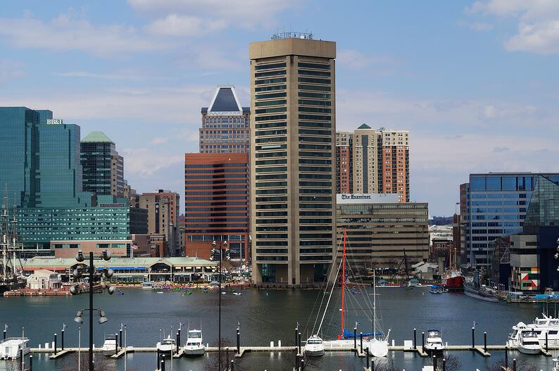 Downtown Baltimore Harbor