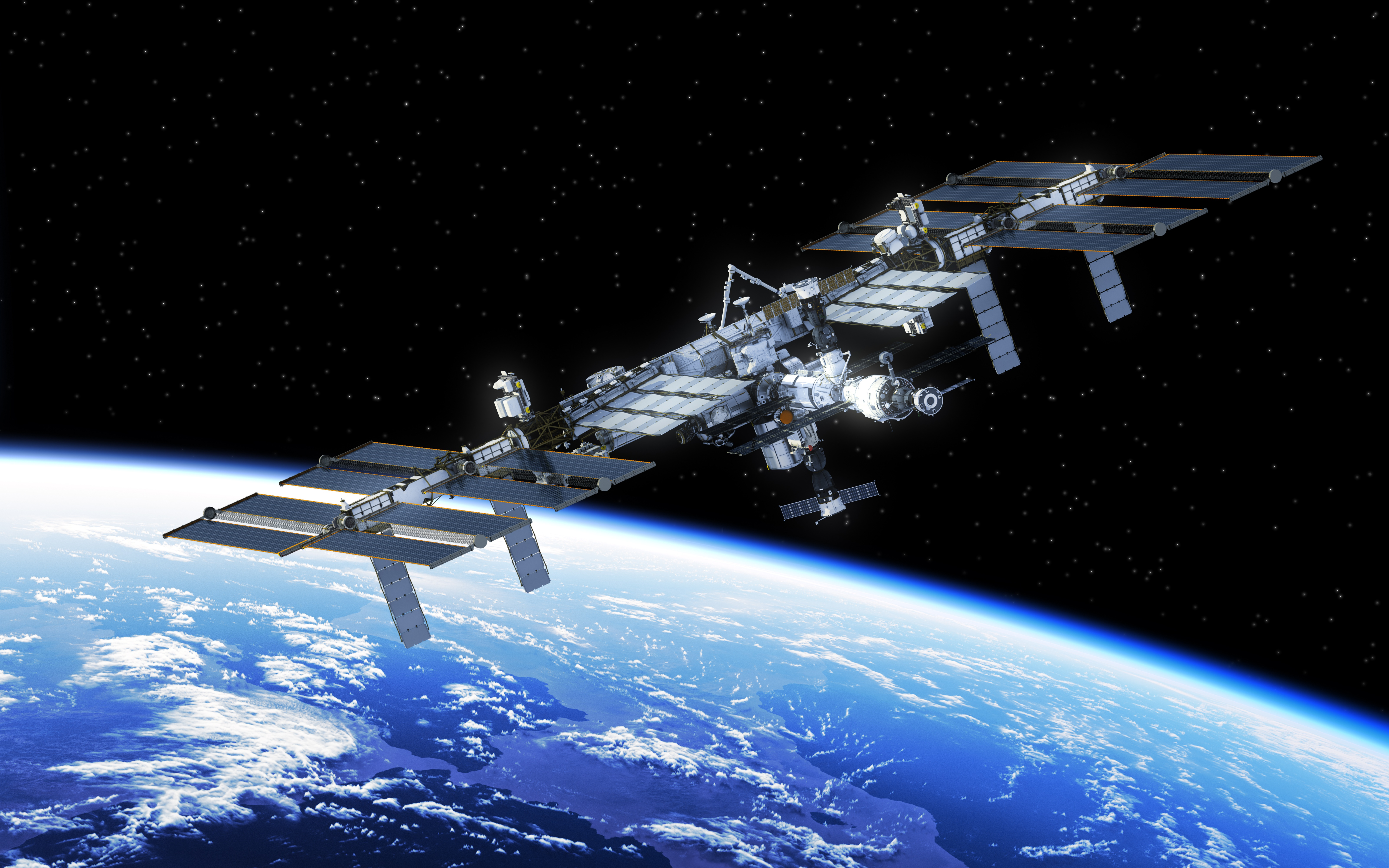The International Space Station.