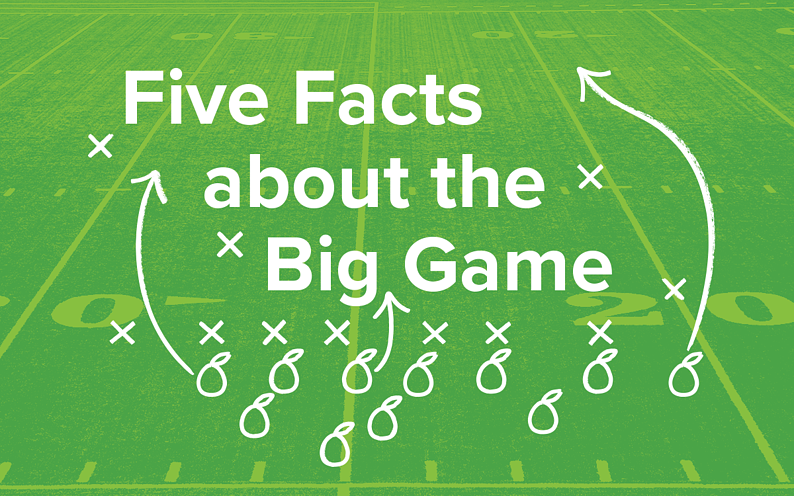 Five facts about The Big Game.