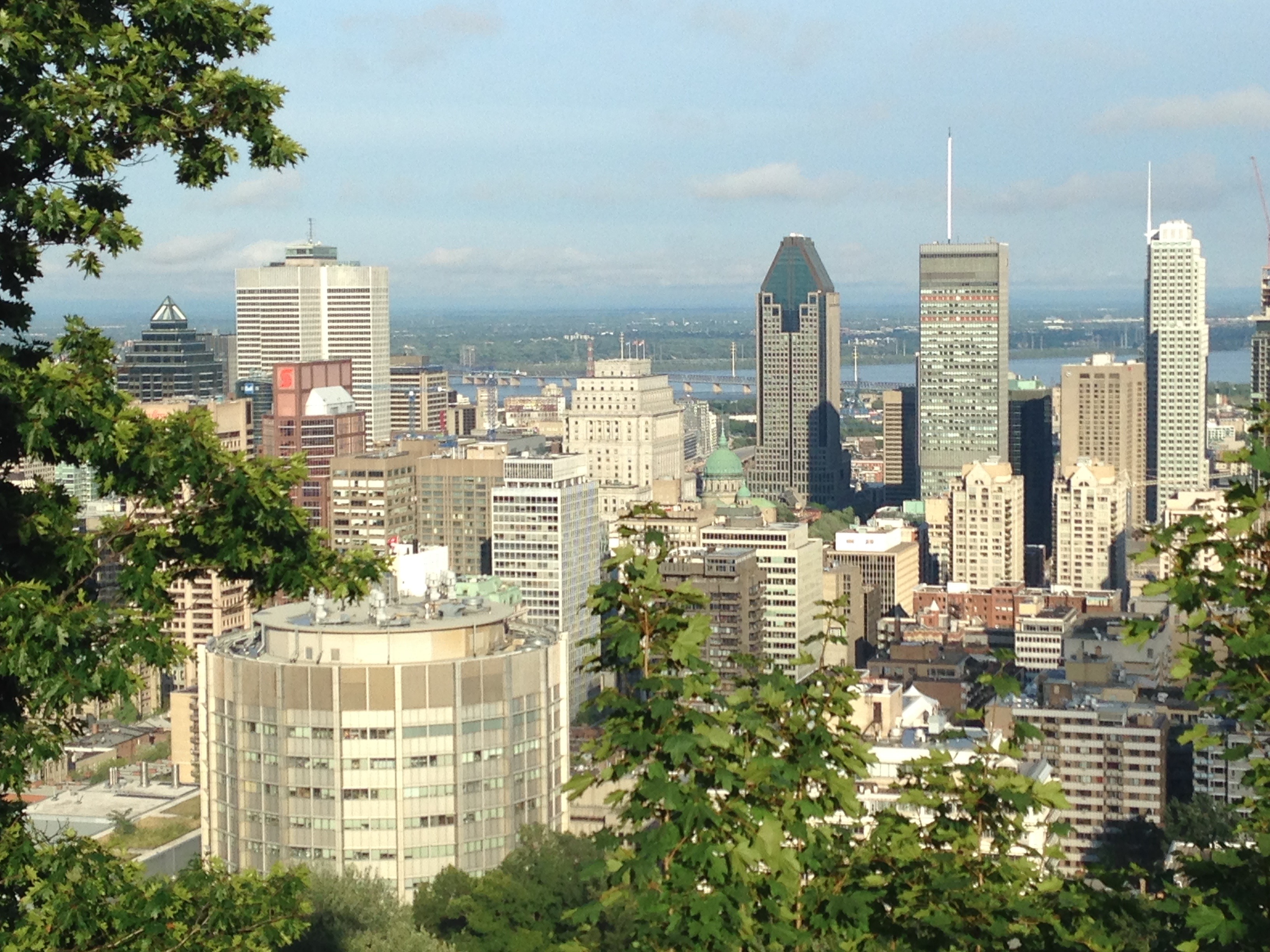 View from Mont Royal