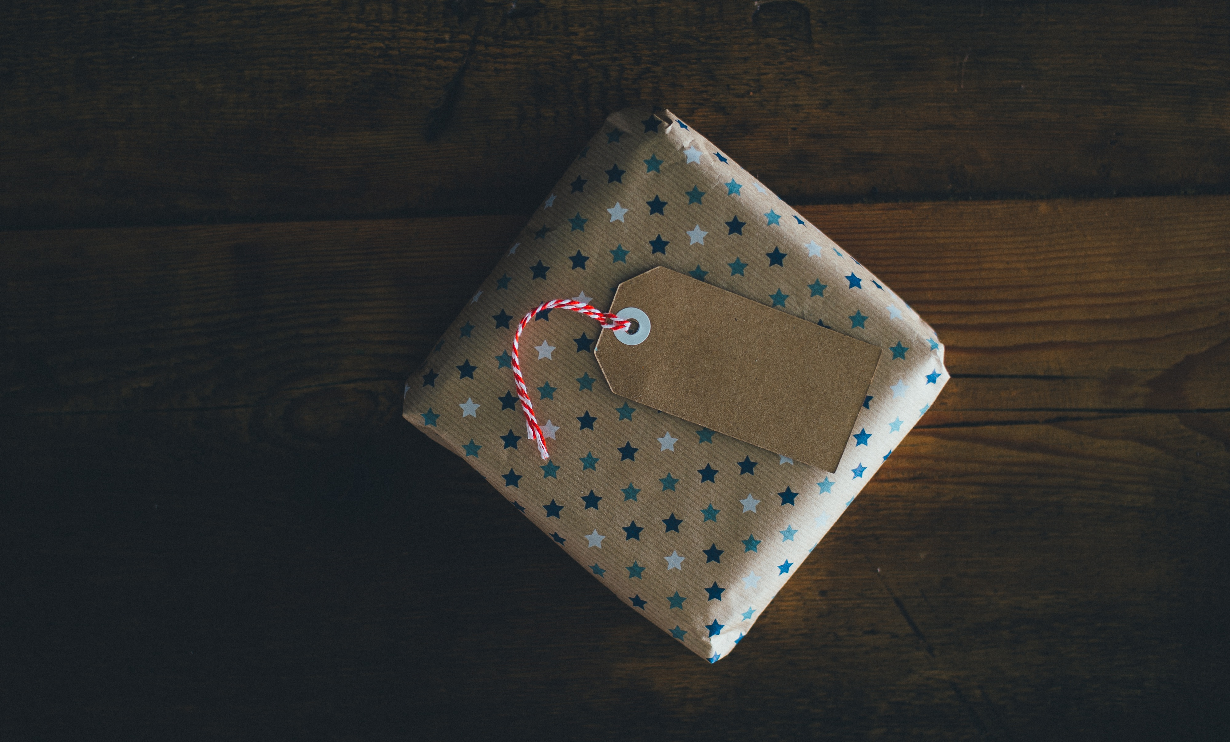 A wrapped gift.