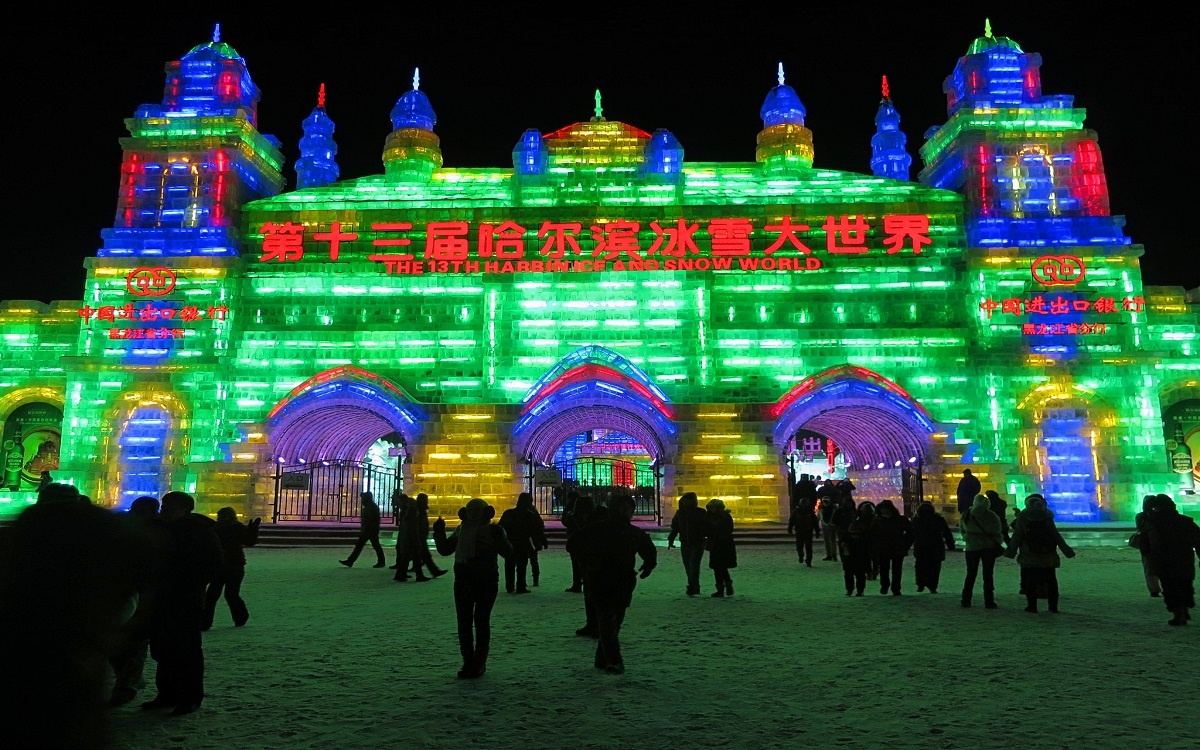 China's Harbin Ice and Snow Festival is the winter festival of your dreams.