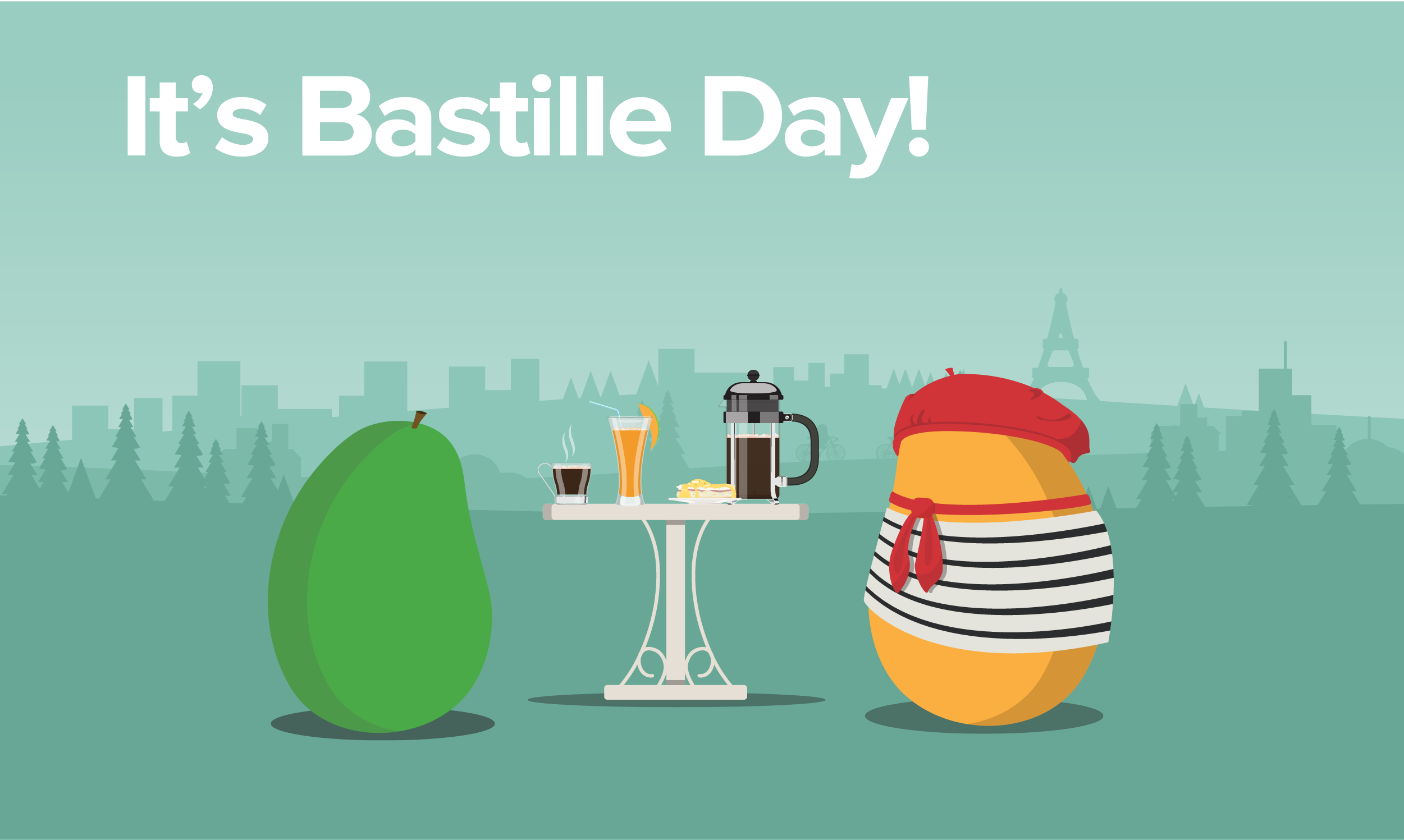 It's Bastille Day