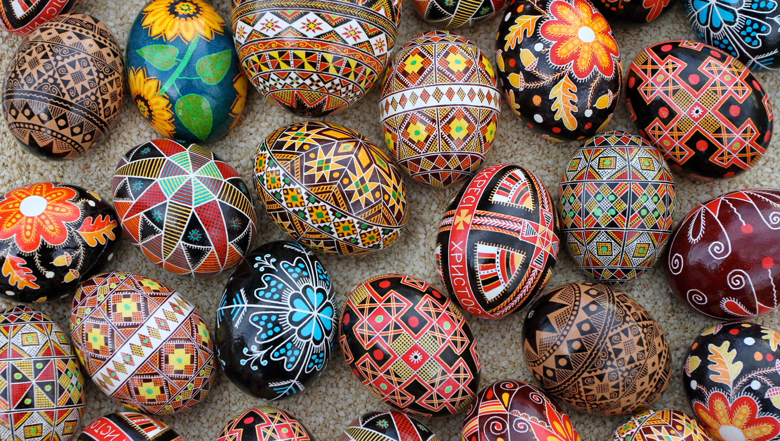 Pysanky eggs header